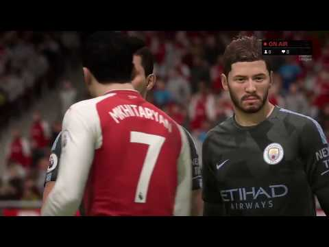 Arsenal vs Man City FIFA 18 Preview | 💥AFTV Young Gunz💥