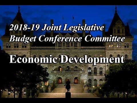 2018-19 Joint Legislative Budget Conference Committee on Economic Development - 03/22/18