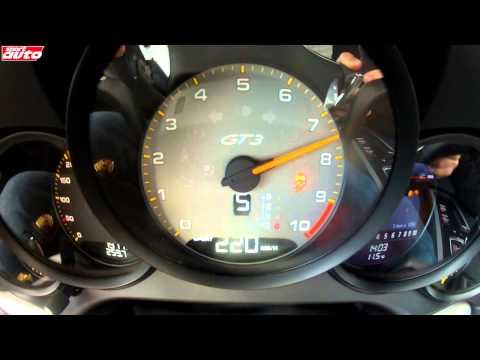 Porsche 911 Carrera GTS vs 911 GT3 Test 0-200 km/h & Sound sport auto