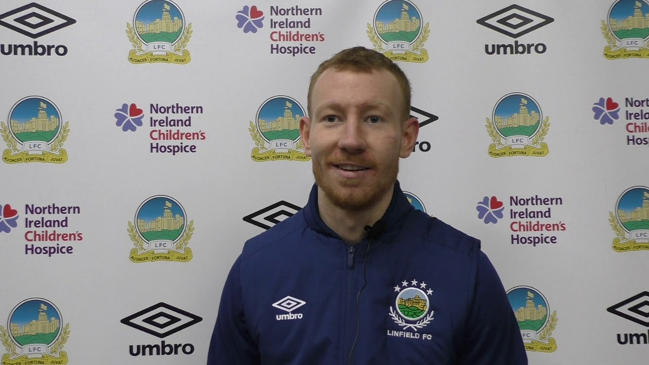 INTERVIEW   Michael Newberry speaks to Linfield TV   Linfield TV   The  Official Website of Linfield FC