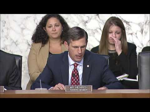 Ranking Member Heinrich Opening Statement at Digital Trade Hearing