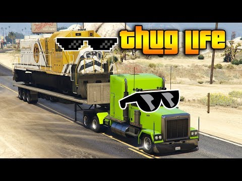 GTA 5 ONLINE : THUG LIFE AND FUNNY MOMENTS (WINS, STUNTS AND FAILS #133)