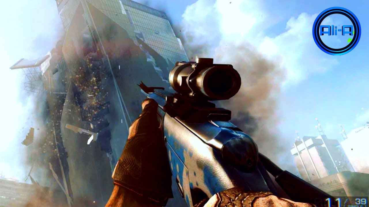 BF4 Multiplayer - SNIPING Gameplay & CAMOS! New ...