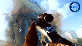 BF4 Multiplayer - SNIPING Gameplay & CAMOS! New Battlefield 4 Online! - 1080p HD PC 2013