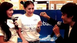 Hamam Wica feat Tessa Kaunang sexy girl in asia