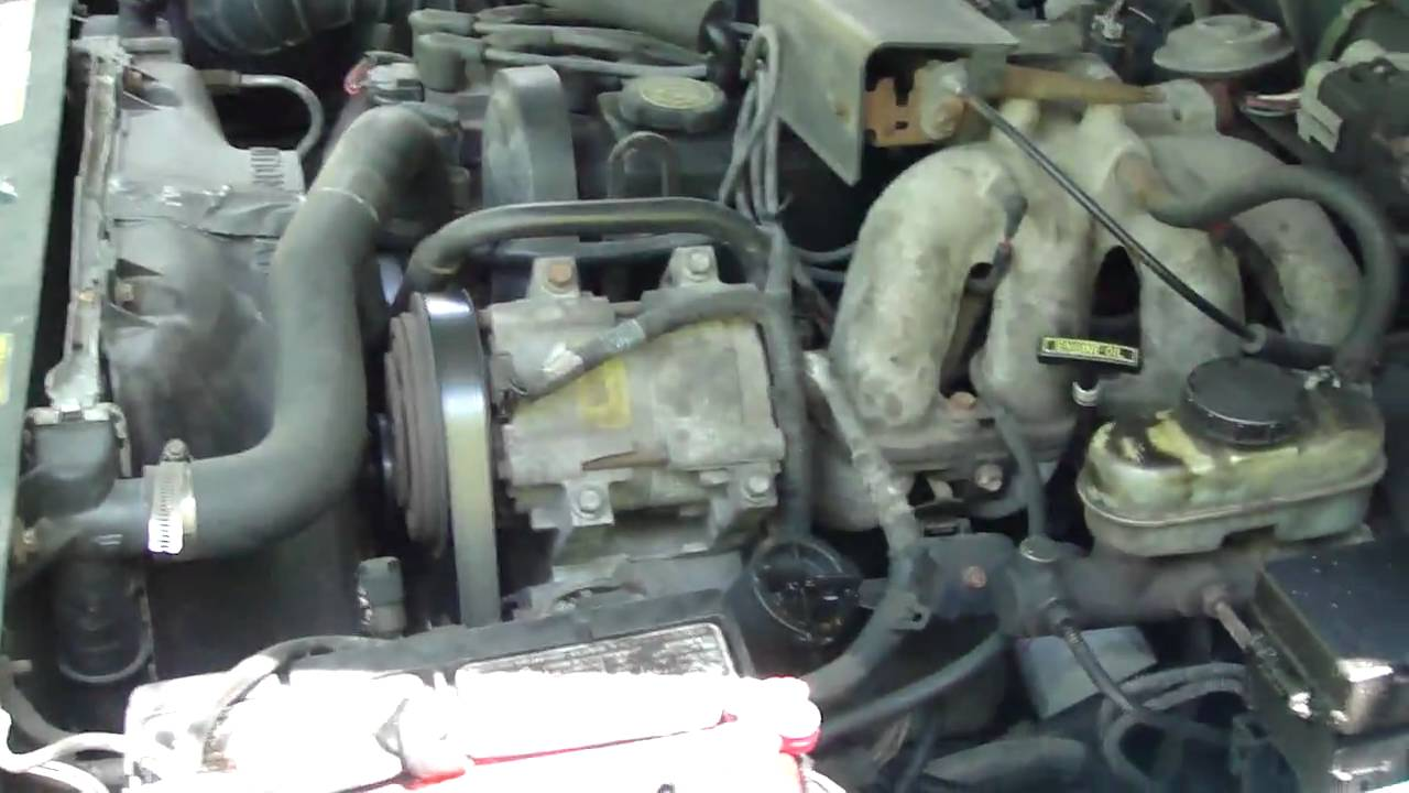 1999 Mazda B3000 Engine Diagram 1997 Ford Ranger With New Starter Cold Start Youtube