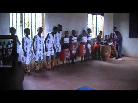 SACU Children dancing a Traditional Dance 2013 (Uganda, Africa)