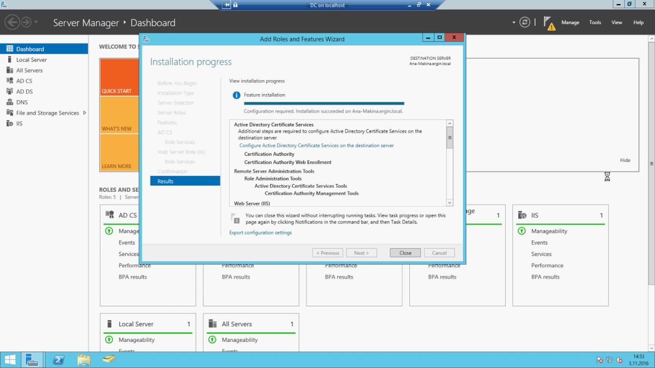 Windows server 2012 r2 certificate services kurulumu youtube windows server 2012 r2 certificate services kurulumu xflitez Images