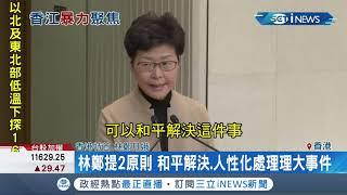 #iNEWS最新 林鄭月娥召開最新記者會 提