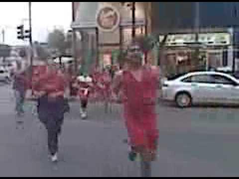Hasher's Red Dress Run San Francisco
