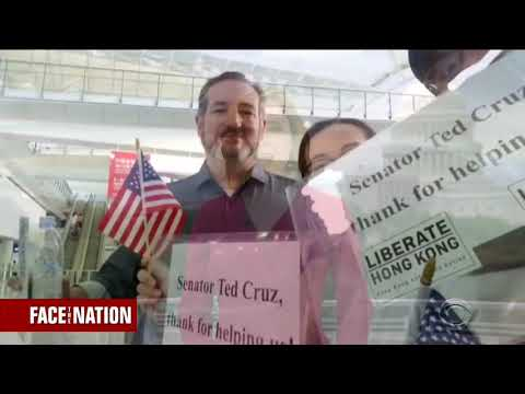 Sen Cruz Joins Face the Nation from Hong Kong