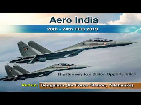 Aero India 2019 - Aerospace Exhibition | Promo-English | DD Chandana