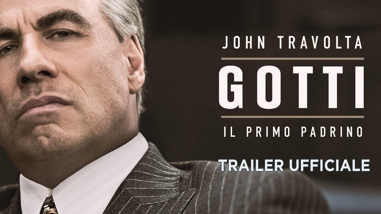 Gotti  - Il primo padrino (John Travolta) - Trailer italiano ufficiale [HD]