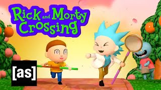 Rick and Morty Crossing | adult swim
