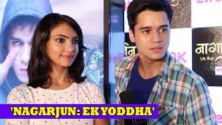 Noori- Arjun aka Anshuman Malhotra, Pooja Banerjee Interview | Nagarjun Ek Yoddha LifeOk Serial