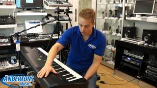 roland fp 80 electric piano in store review with richard gere and peter gabriel