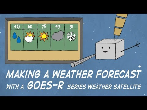 Making a Weather Forecast with a GOES-R Series Weather Satellite