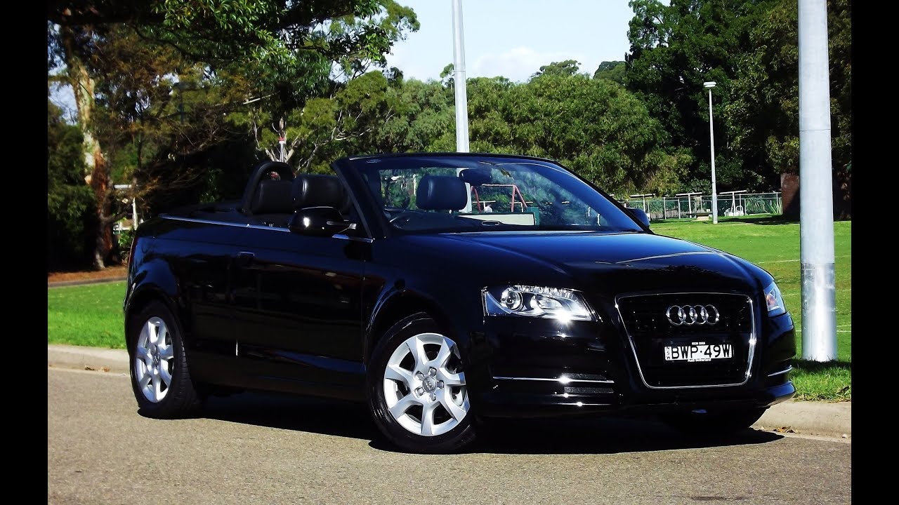 2011 audi a3 tfsi attraction cabriolet s tronic 36. Black Bedroom Furniture Sets. Home Design Ideas