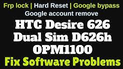 flashing repair htc OPM1100 D626ph fix full hanging logo