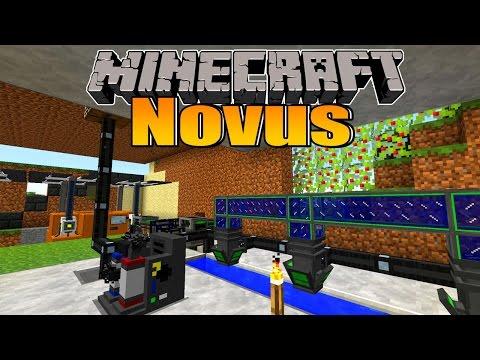 Pumpensystem für Deuterium! - Minecraft NOVUS #72