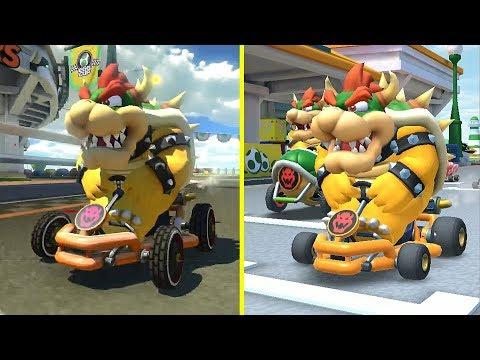 Mario Kart Tour Vs Mario Kart 8 Graphics Comparison