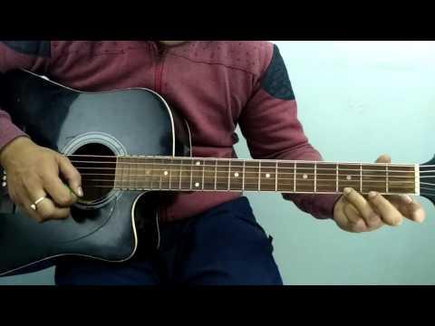 Oo jane jaana Salman khan part 2 tabs tutorial on guitar at ...