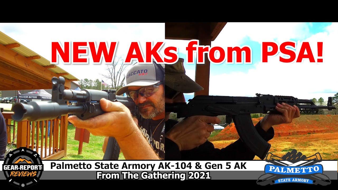 Palmetto State Armory AK-104 and GF5 AKs Range Review
