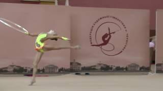 Власенко Валерія (обруч) Художественная гимнастика. Чемпионат Черниговской области