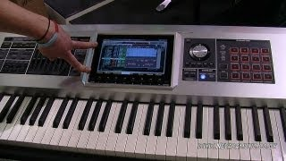 Roland Fantom G8 Workstation Keyboard Demo - Nevada Music UK