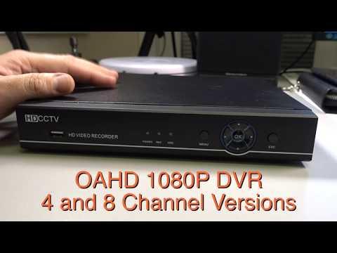 Budget 1080p CCTV Recorder 2018 - From £59+VAT