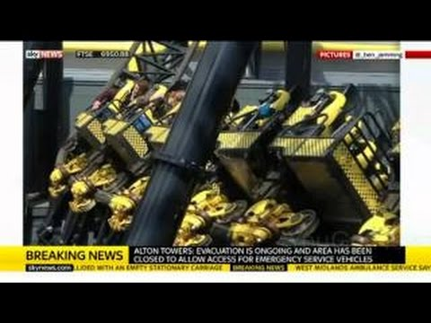 Alton Towers Roller Coaster Crash: Witnesses Describe Accident as 2 Carriages Collide at Smiler Rid