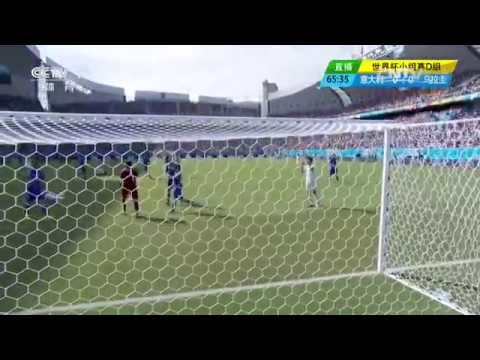 Luis Suarez BITES Chiellini Italy Vs Uruguay  0-1 Diego Godín Goal 2014 World Cup Highlights Part 1