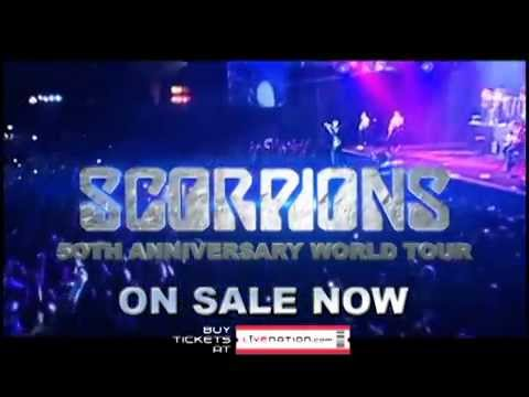 Scorpions - Live at the SAP Center on 10.1.15