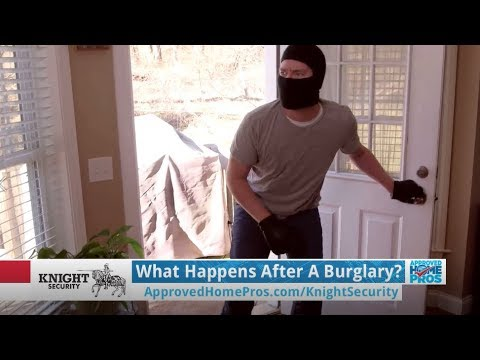 What Happens After a Burglary?