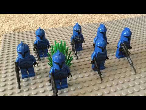 Blue Guards or Red Guards?- Lego Star Wars Stop Motion