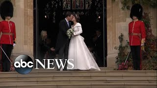 All the royal details of Princess Eugenie and Jack Brooksbank's wedding