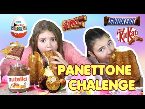 PANETTONE CHALLENGE SUPER 12 INGREDIENTI NATALE 2018 panettonechallenge by MARGHE GIULIA KAWAII