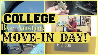College Move-In Day! | 2015