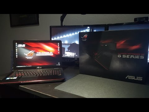 ASUS ROG GL551JW - DS71 Gaming Laptop Unboxing + Performance Test