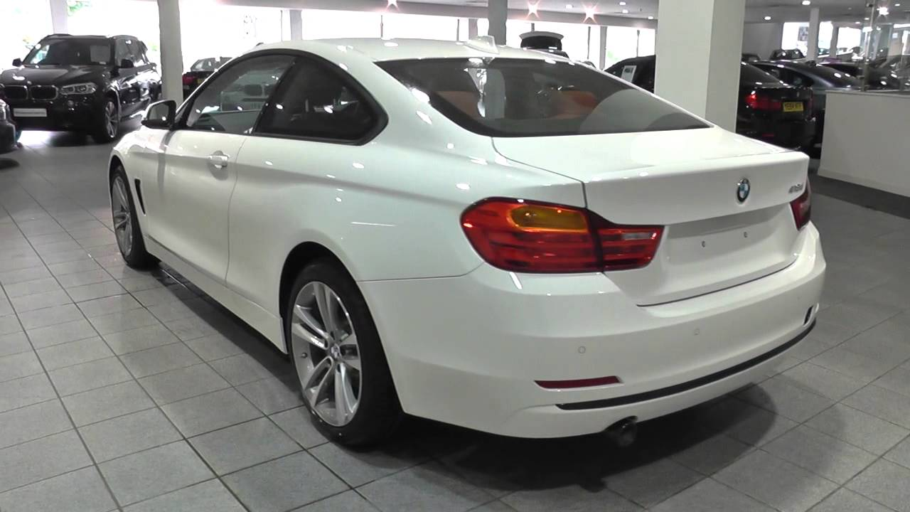 bmw 4 series coupe f32 418d sport coupe b47u z4bb u5803 youtube. Black Bedroom Furniture Sets. Home Design Ideas
