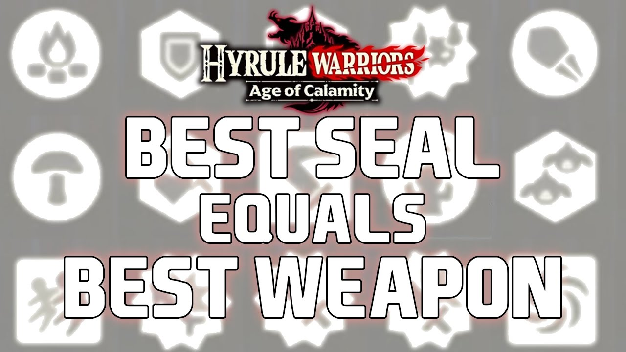 Hyrule Warriors Age Of Calamity Demo Weapon Seals Youtube