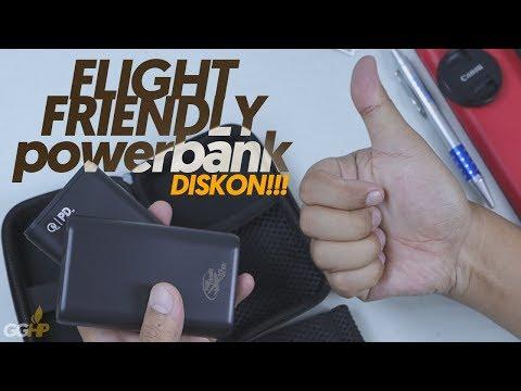 Flight Friendly Powerbank, Aman Dibawa NAIK PESAWAT