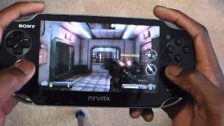 PS Vita: Resistance: Burning Skies Online Gameplay