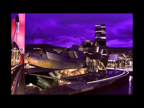 Frank O Gehry, Bilbao Guggenheim Museum, concept video mapping.