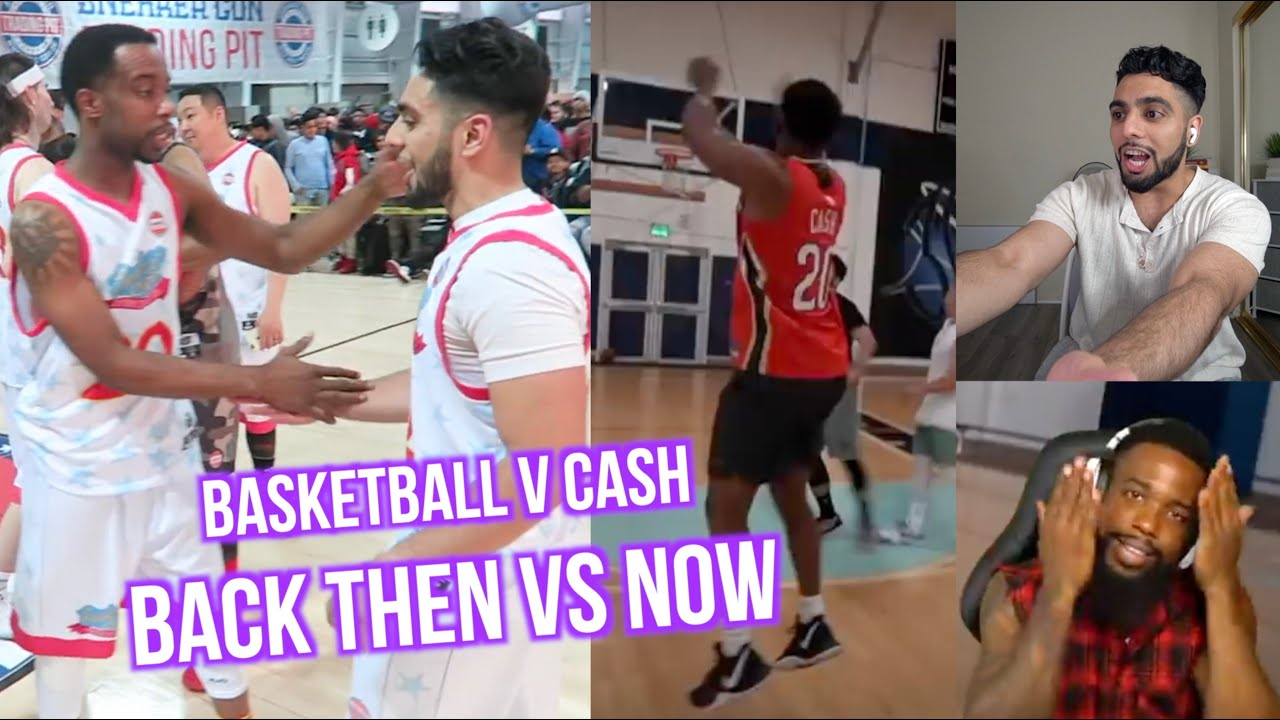 CASH REACTS TO OUR BASKETBALL MATCH! *Called Out YouTubers*