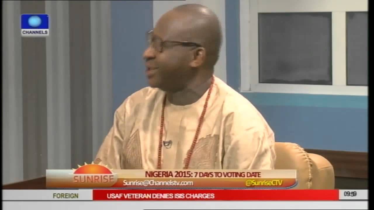 Download Obahiagbon Says Nigeria Is In A Political State of 'Social Ebola'