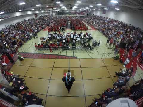 2018 BMC Durfee High School Commencement Ceremony Time Lapse