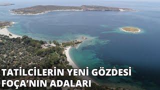 Gambar cover Foça ve adaları tatilcilerin gözdesi