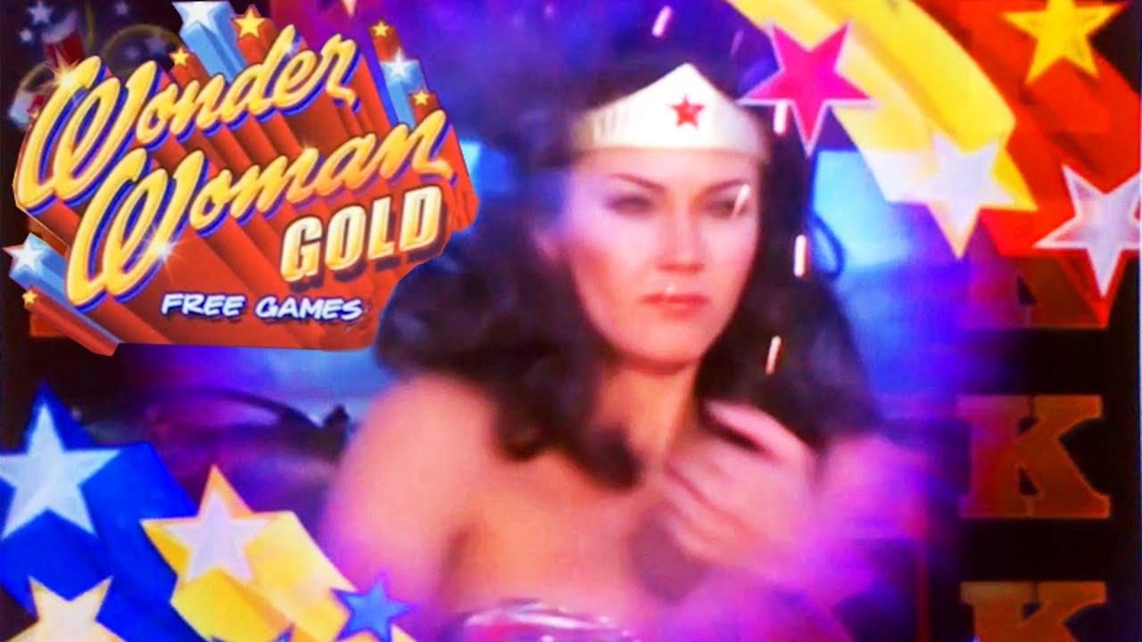 Wonder Woman Gold Slot Machine