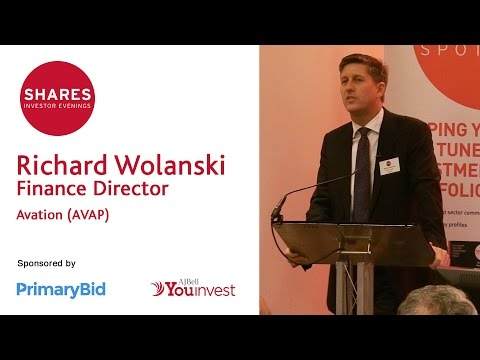Richard Wolanski, Finance Director - Avation (AVAP)